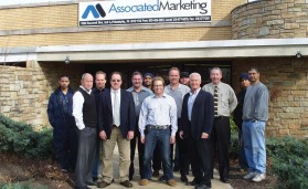 Philadelphia-based Associated Marketing has 18 employees and services the greater Philadelphia area