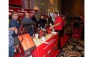The Milwaukee Tool booth