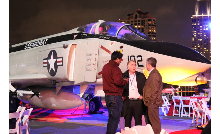 MCAA officially kicked off its 2017 conference in San Diego by hosting an opening celebration aboard the USS Midway, a decommissioned aircraft carrier