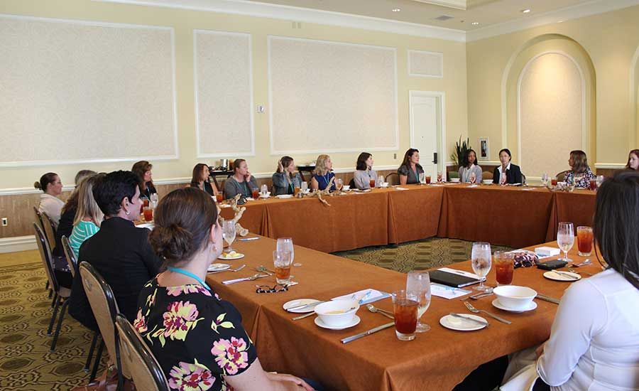 The luncheon for Women in the Mechanical Industry