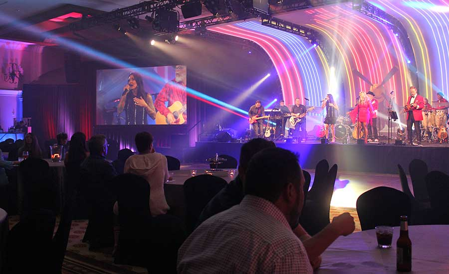 The closing celebration featured the Milwaukee Tool Shed Band