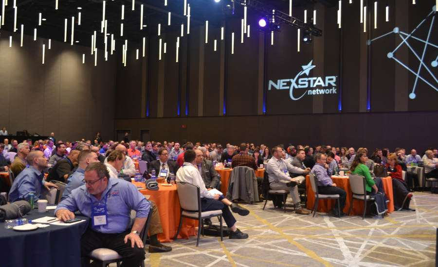 A packed house awaited the start of Nexstar Network's 2019