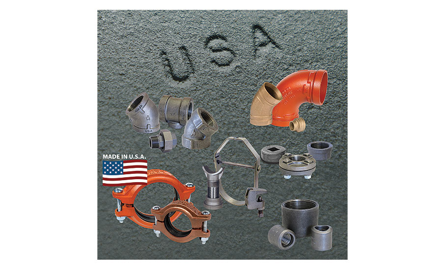 Anvil Intl.'s piping products