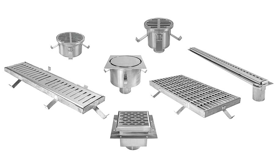 MIFAB's custom fabricated stainless steel drains, drain grates and catch basins