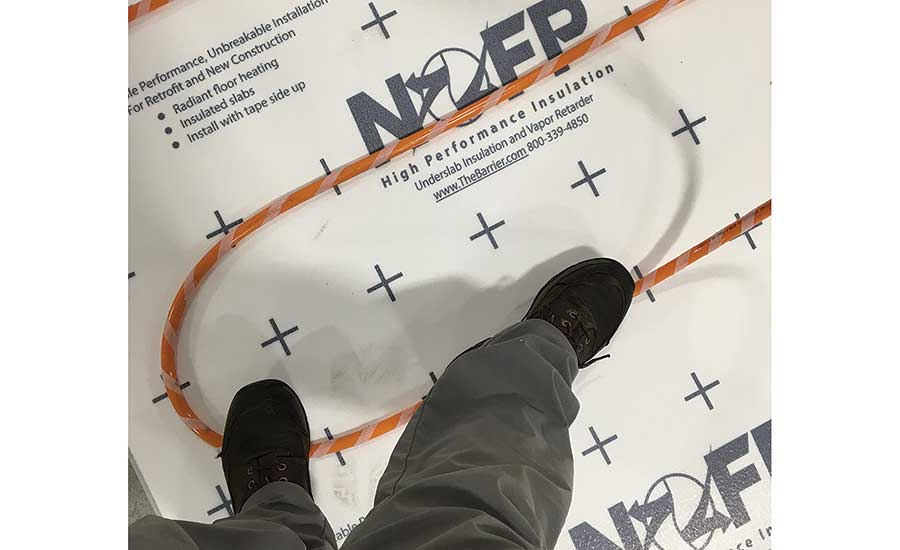 NOFP's BarrierEZ insulated floor system