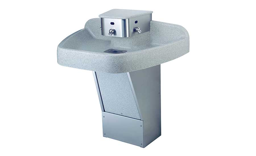 Willoughby's WAF-3300/3301 AquaFont 3-station washfountain