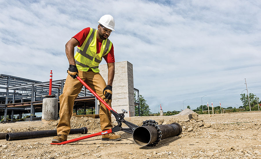 RIDGID Model 286 soil-pipe cutter