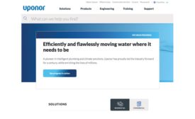 Uponor new website