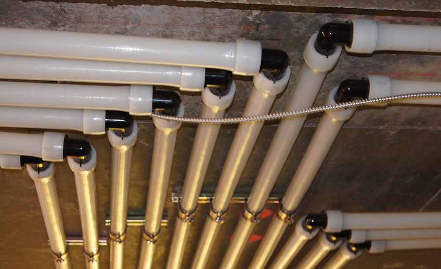 Best Practices for installing PEX-a in commercial plumbing