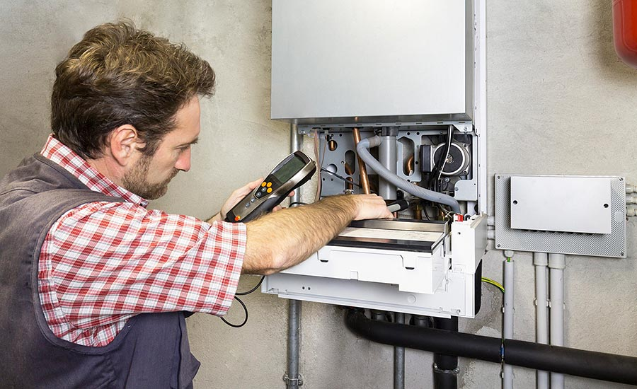 high-efficiency boiler replacement