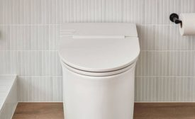 American Standard two-piece and tankless toilets