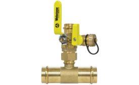 Webstone press ball valves