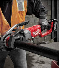 Milwaukee Tool cordless pipe threader