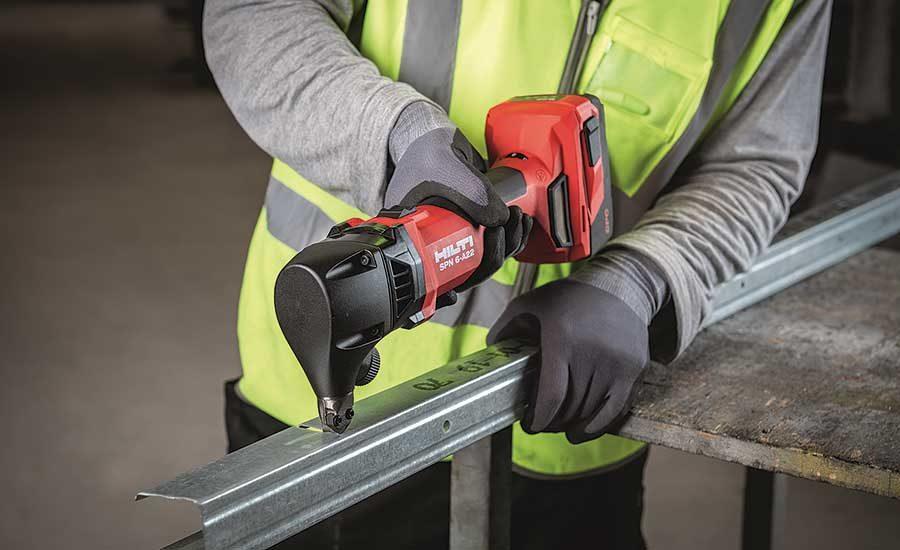 Hilti Double Cut Shear And Nibbler 2020 01 15 Plumbing Mechanical