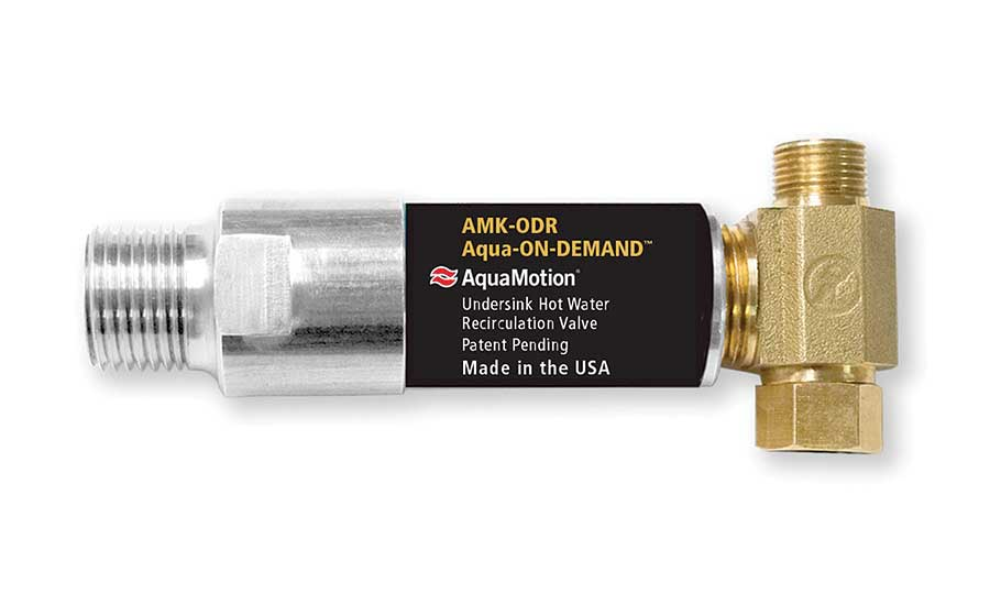 AquaMotion hot water recirculation kit