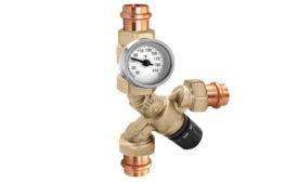Caleffi thermostatic mixing valve