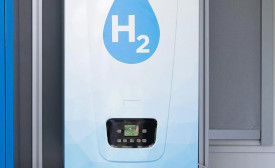BDR Thermea Group hydrogen powered domestic boiler