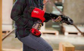 Hilti pistol-grip pipe press tool