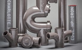 Charlotte Pipe cast iron pipe and fittings system