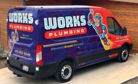 Works Plumbing Truck