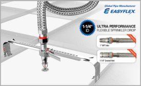 Easyflex flexible sprinkler drop