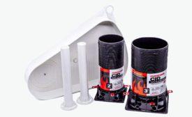 RectorSeal tub box kits