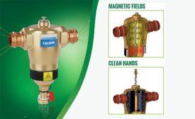 Caleffi magnetic dirt separator