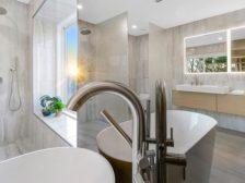 newly finished bathroom