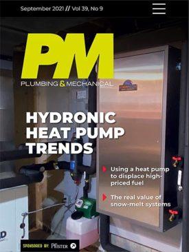Plumbing & Mechanical September 2021 Cover