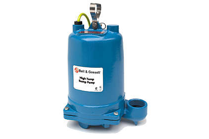 High-temp sump pump