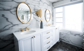 Bathroom trends report from Houzz