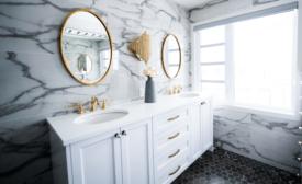 Bathroom trends report from Houzz