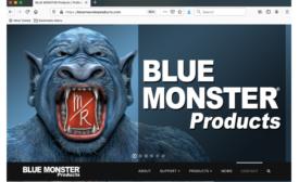 bluemonster website