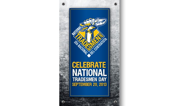 National Tradesmen Day logo