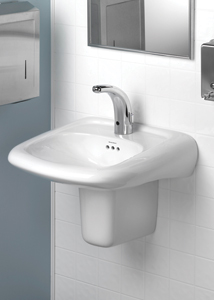 Ada Compliant Wall Hung Sink 2013 08 22 Plumbing And