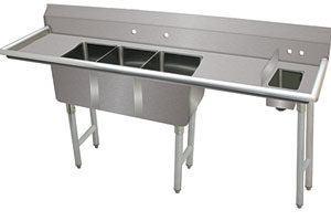 Advance Tabco fabricated sink
