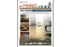2013 Radiant flooring guide feat