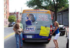 Mike and Jeanne Petri of Petri Plumbing, Brooklyn, N.Y.