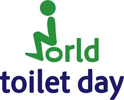 This is the first year that November 19th was officially designated World Toilet Day by the United Nations