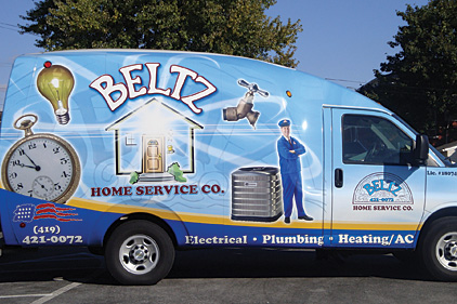 PM's October 2013 Truck of the month: Beltz Home Service.