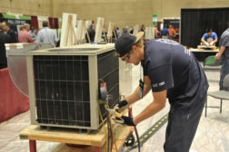 The first HVAC Apprentice Contest was held on Oct. 16-17, 2013, at PHCC CONNECT 2013 in Las Vegas.