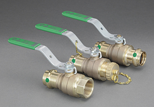 Viega ball valves