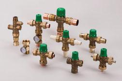 Taco lead-free mixing valves