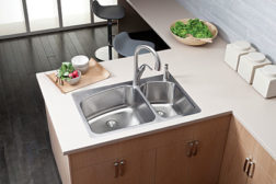 Elkay double-bowl sinks
