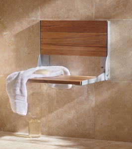 Moen fold-down shower seat