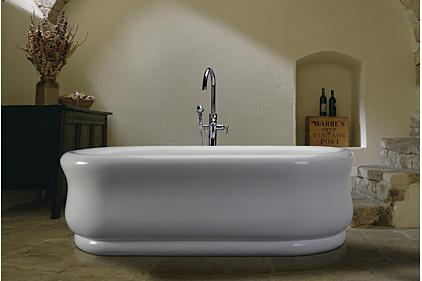 Superb MTI Bathsu0027 Oval Shaped Parisian Freestanding Tub Is Available As A Regular  Tub Or An Air Bath.