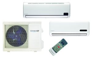 ECR International ductless split system