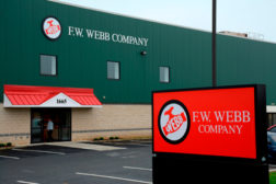 F.W. Webb is expanding into Pennsylvania with the opening of a branch in Allentown.