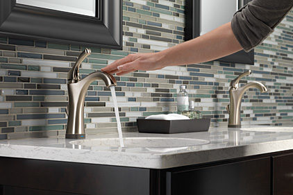 Touchless Bathroom Faucets simple touchless bathroom faucets hands free sink 0 intended