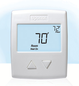 Hydronic heating setpoint controller
